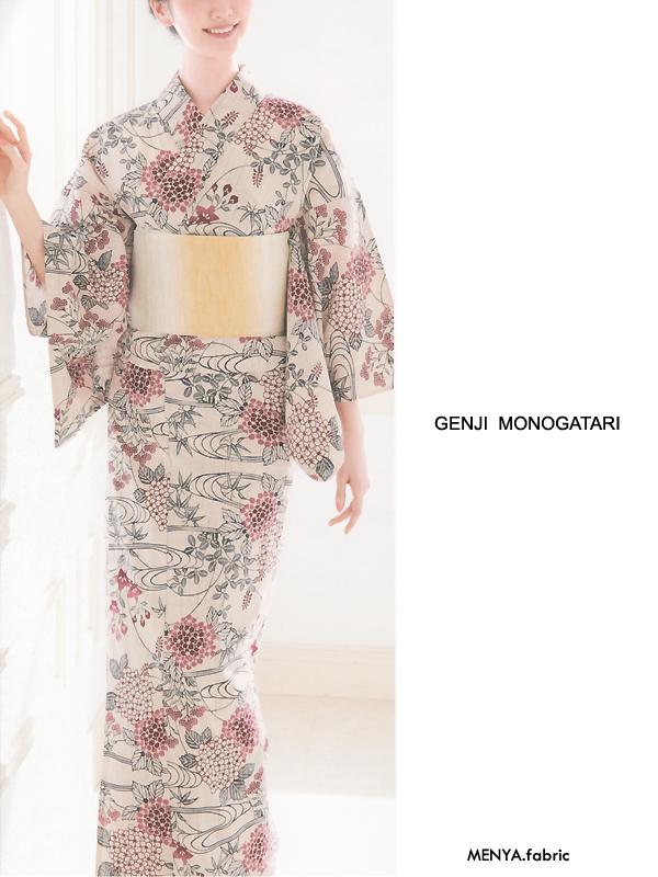 GenjiMonogatariゆかた「さわらび/絵43」