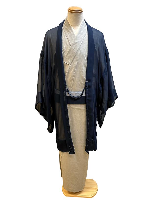 シルク楊柳薄羽織「FUWARI」単仕立て付き