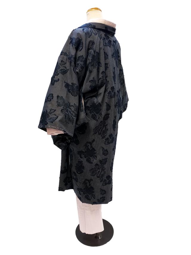 カットジャガード木綿羽織「KIRIBANA」