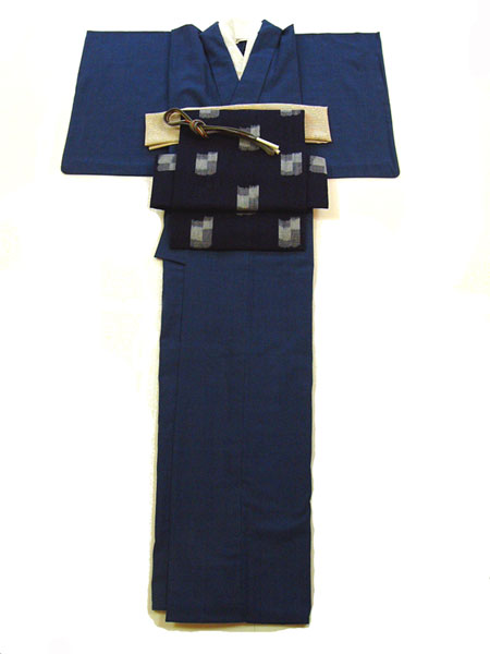 藍染木綿着物NO15