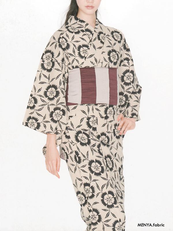 麻と綿の布「氏30」