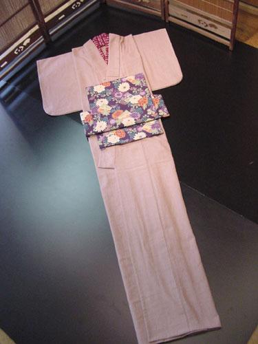 あずみ野木綿の着物「女性/単」