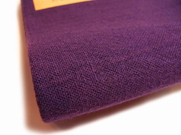 古布再現布「あずみ野木綿反物」紫紺No14