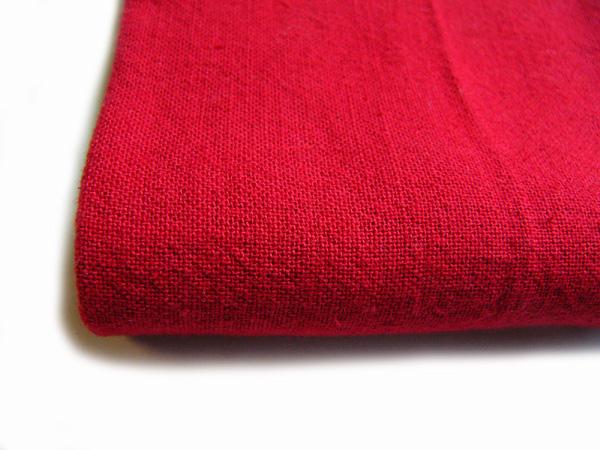 古布再現布「あずみ野木綿反物」紅色No60