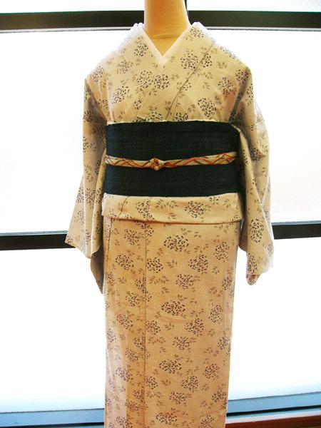CEレディース木綿着物「syakuyaku」4233