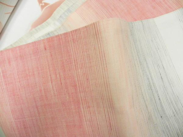 麻半巾帯「ぼかし織」