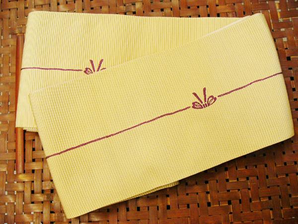 化繊半巾帯[地353]