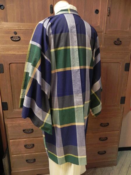 春夏木綿羽織「マドラスチェック/2色」