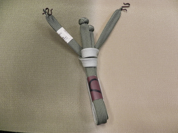 男性用羽織紐「鼠/銀鼠」