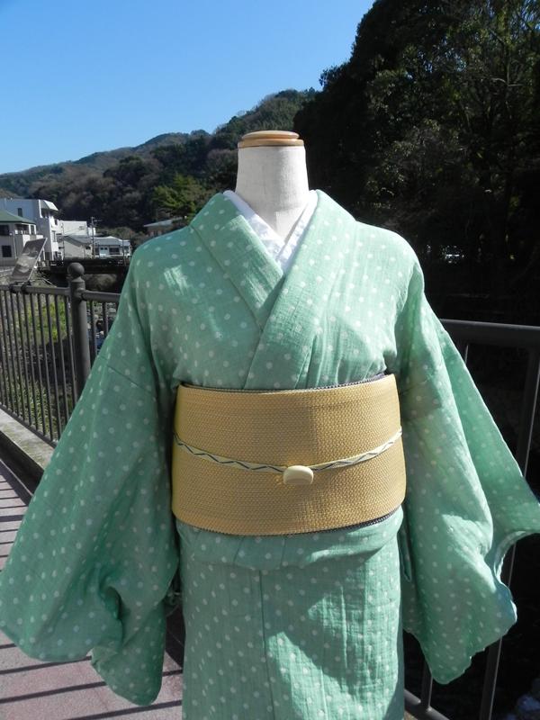 [Gauze]春夏綿紗の着物