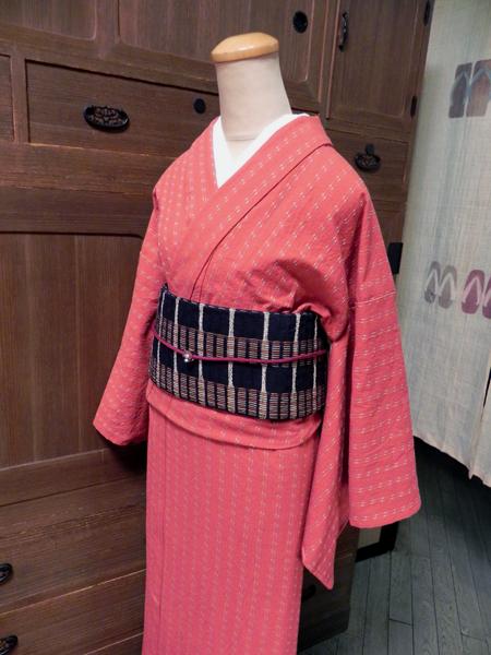 先染木綿着物「雫/SHIZUKU」