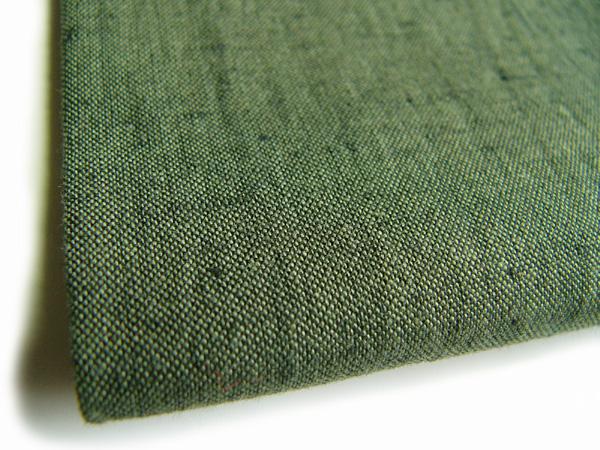 古布再現布「古布紬反物No2004 /深緑」