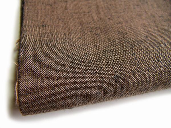 古布紬木綿[T2006焦茶]