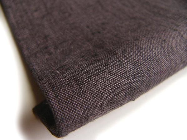 古布再現布「古布紬反物」紫色No2504