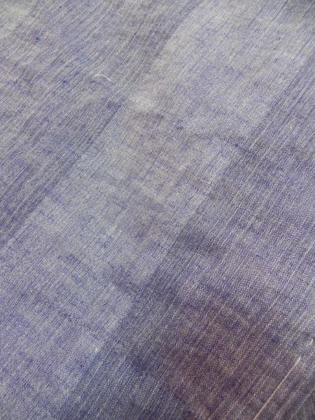 春夏木綿羽織「太縞(綿麻)2色」