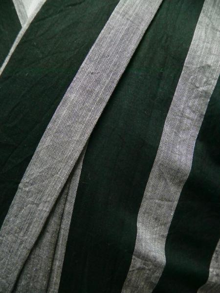 綿麻着物「棒縞」