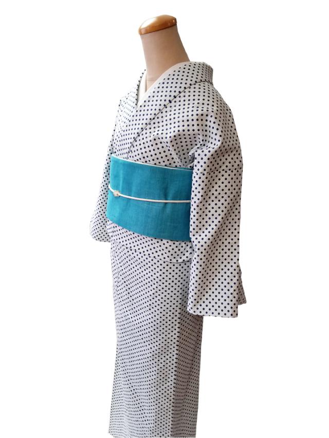 French dot momen kimono「apois]