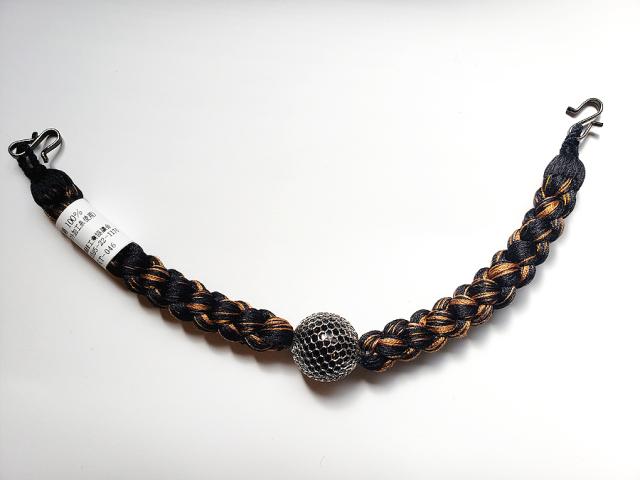 メンズ正絹羽織紐(ワイヤーアクセサリー)