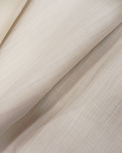 麻楊柳の着物「生成」