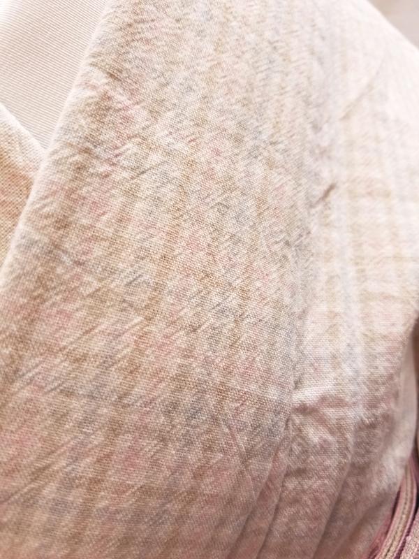 (先染)木綿着物「二重弁慶格子」