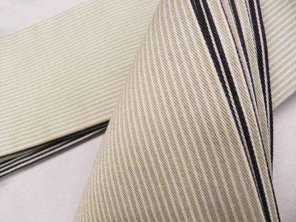 木綿角帯「縞/両面」