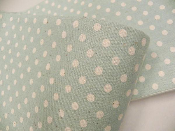 木綿型染半巾帯「水玉模様」