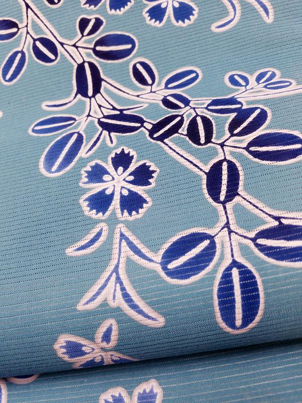 型染綿絽京袋帯