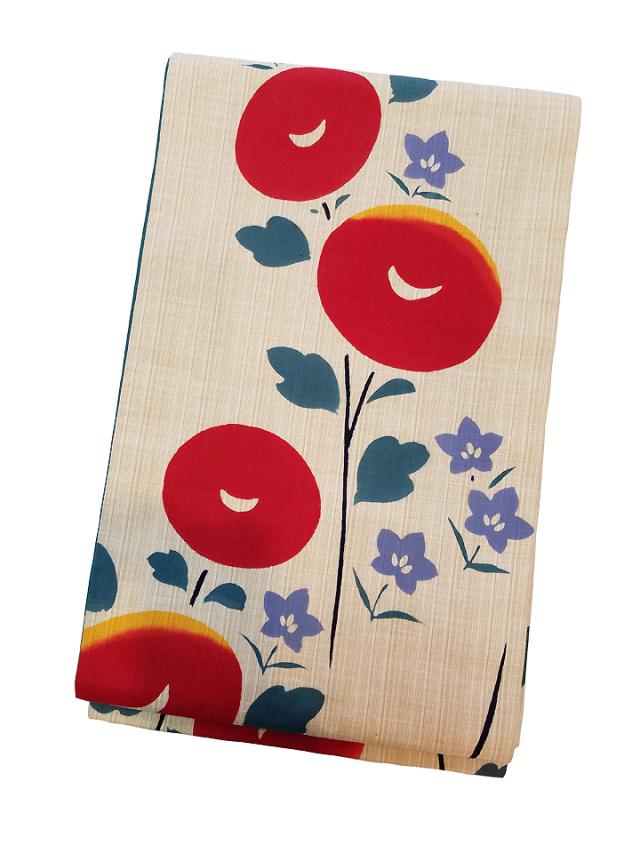 型染木綿京袋帯