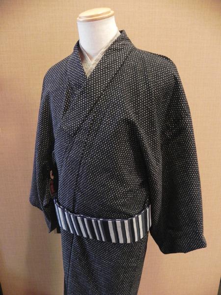 匠シリーズ木綿着物「蚊絣模様」