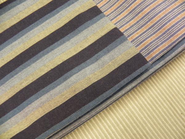 唐桟木綿角帯