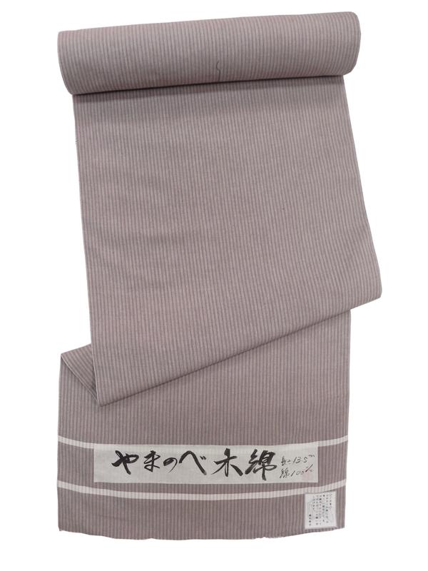 山辺木綿(縞/薄柿色)