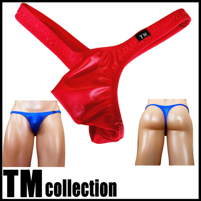 TMコレクション メンズビキニ WET Sexy カット ローライズ Tバック Msize Men's Thong 065411