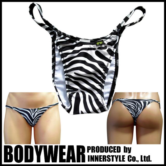 メンズ ゼブラ柄  ハギ無し ハーフバック(1934037)underwear/BODYWEAR