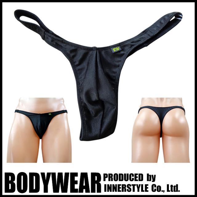 メンズ水着 BLACKアーガイル柄  Tバック Swimsuit BODYWEAR 1958083