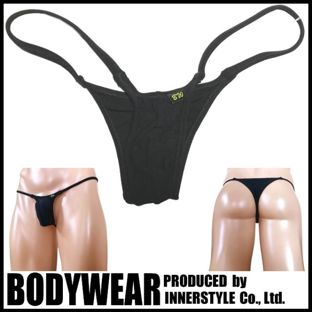 BODYWEAR ブラックスーパーストレッチ ウルトラマイクロ リオバック Micro Bikini 2002117