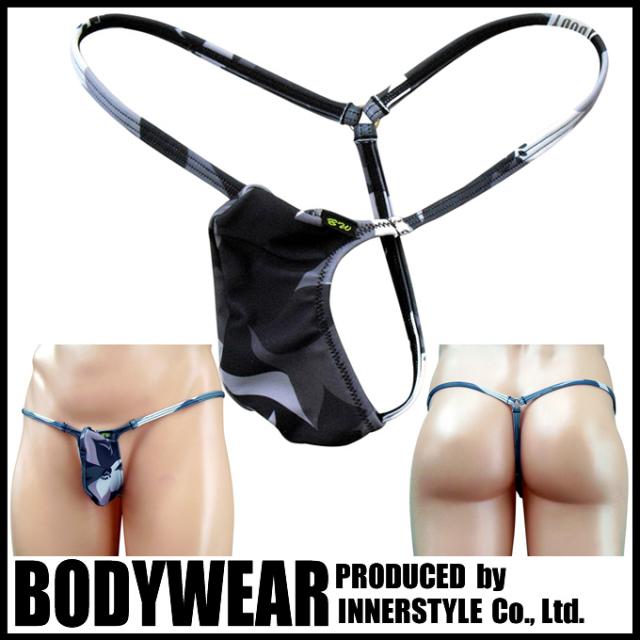 メンズ 水着 カモフラフラワー柄  Gストリング(3007035)Swimsuit/BODYWEAR