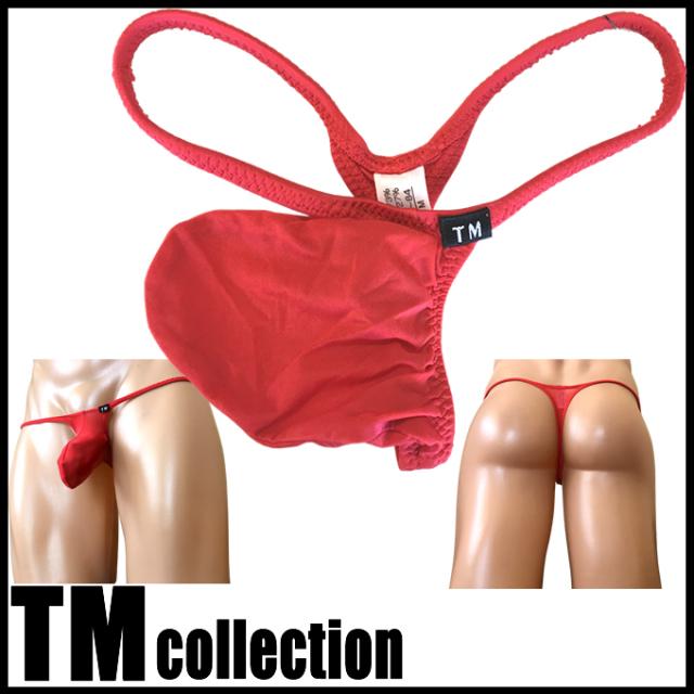 TMコレクション メンズビキニ クリアスキン ジャストインパクト Tバック Msize Men's Thong 325244