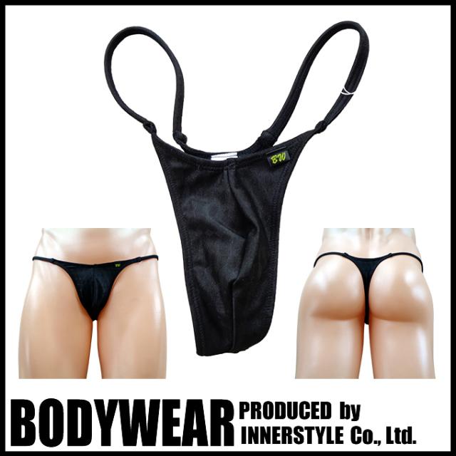 メンズ水着 BLACKアーガイル柄  ストリング Tバック Swimsuit BODYWEAR 3352083
