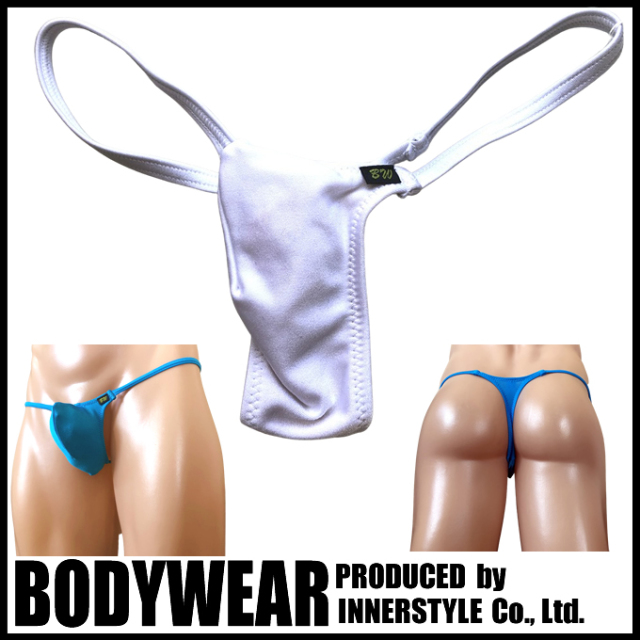 BODYWEAR メンズ水着 ブライトストレッチ 上向きTフロント Tバック swimwear Thong 359004