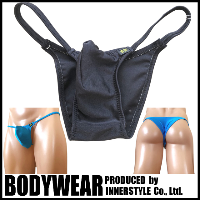 BODYWEAR メンズ水着 ブライトストレッチ 上向きTフロント リオバック swimwear Rio Bikini 360005