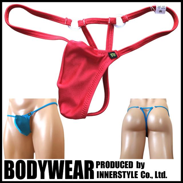 BODYWEAR メンズ水着 ブライトストレッチ Tフロント トライアングルバック Gストリング swimwear Gstring 361006