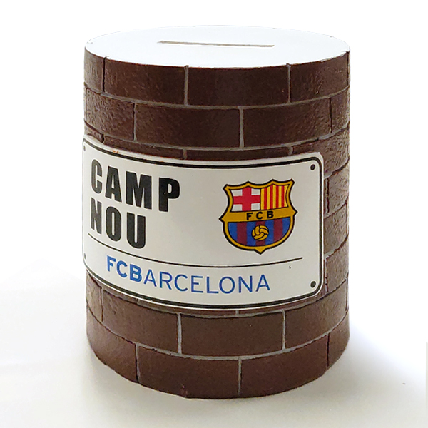 FCバルセロナ ブロックウォール マネーボックス