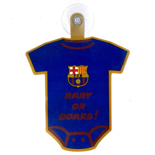 FCバルセロナ カー ハンガー (BABY ON BOARD)