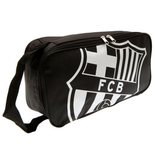 FCバルセロナ シューズバッグ (ブラック)