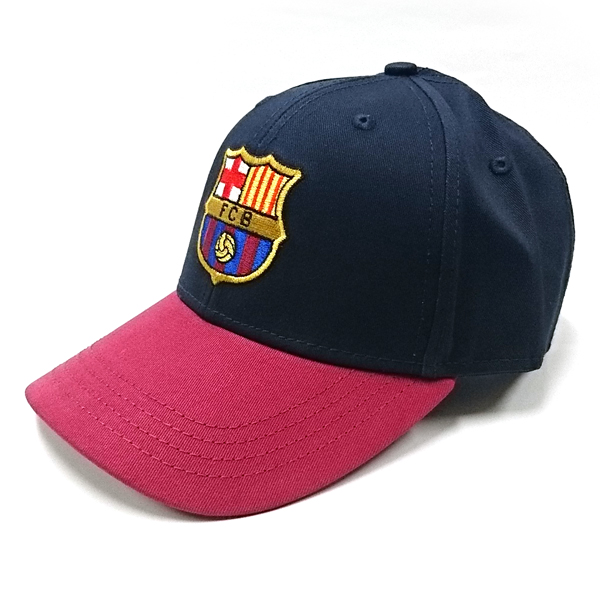 FCバルセロナ ベースボールキャップ (ネイビー/レッド)