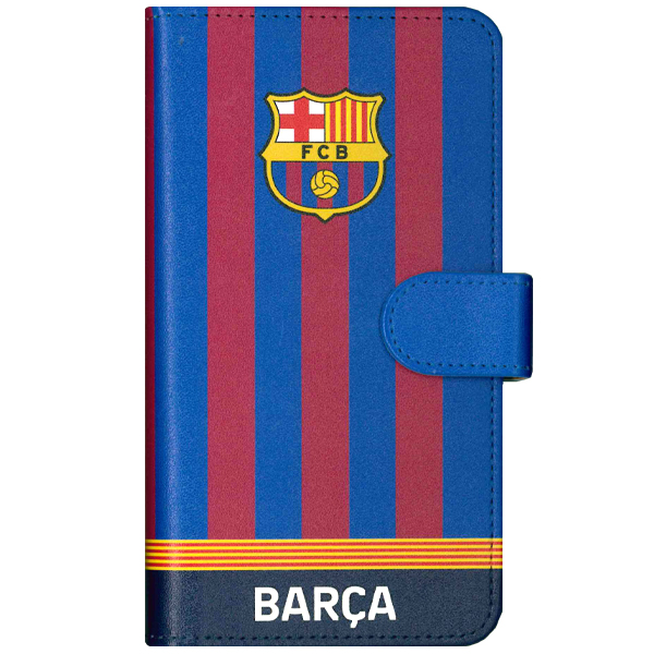 FCバルセロナ 手帳型スマートフォンカバー マルチ (ストライプ)