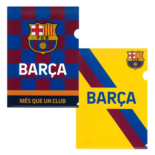 FCバルセロナ クリアファイル (2枚セット)