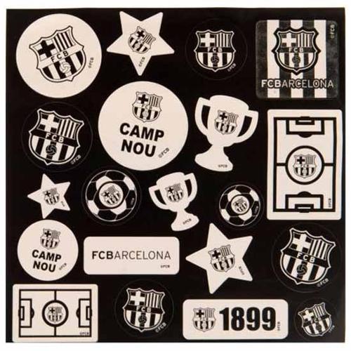 FCバルセロナ GLOW IN THE DARK ステッカー