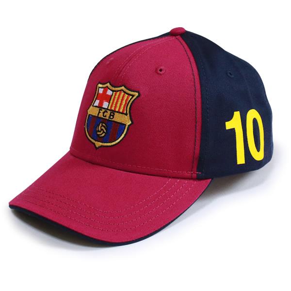 FCバルセロナ MESSI ベースボールキャップ (バーガンディ)