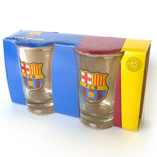 FCバルセロナ ショットグラス 2個セット